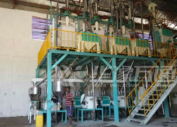 Ethiopia MEJER Flour Factory PLC. ordered our 40T/Day Wheat Milling Plant