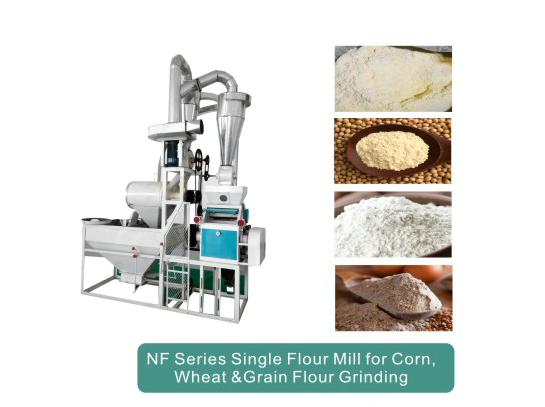 NF Single Wheat Flour Milling Machine